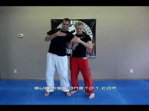 Ari Bolden of Submissions 101 demonstrating a gooseneck lock